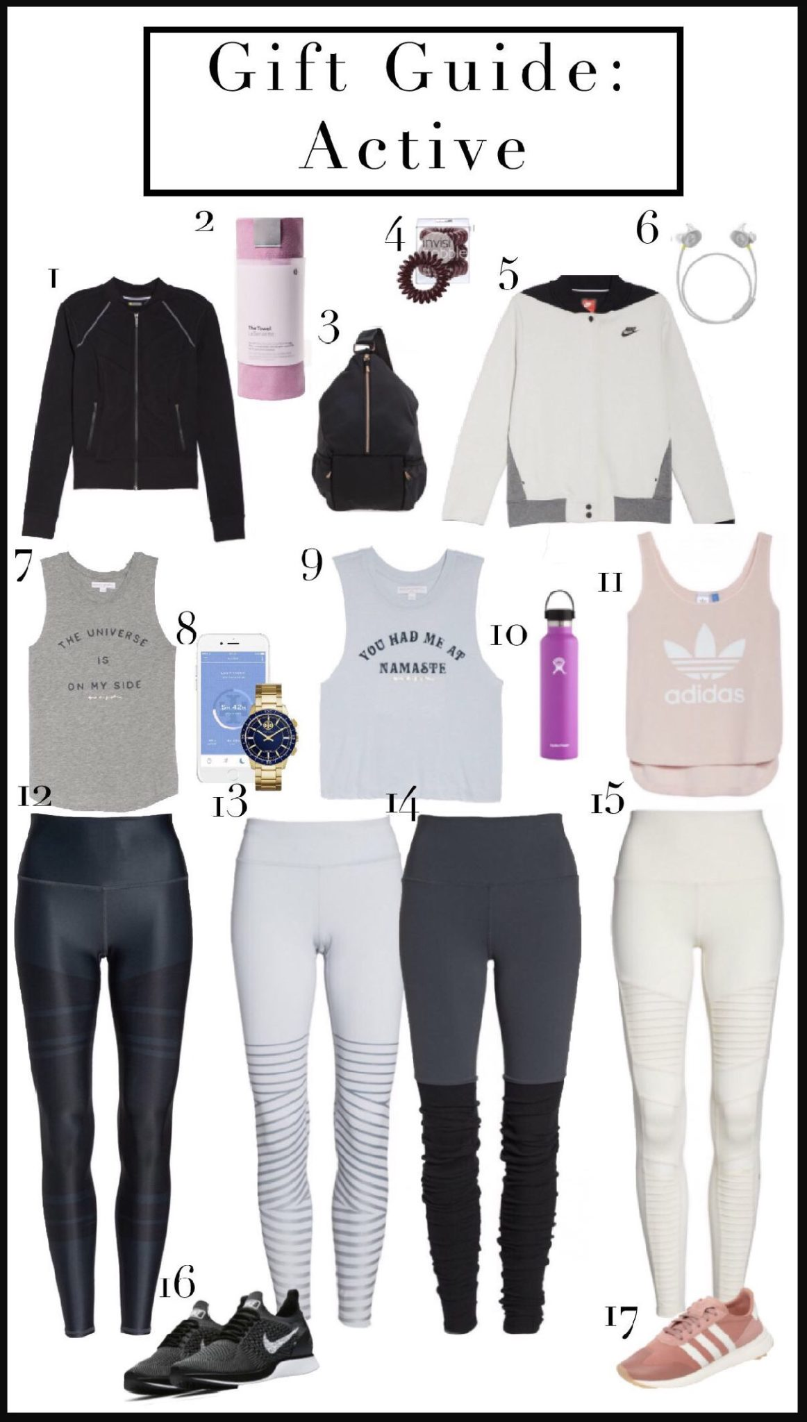 Gift Guide: Women's Active